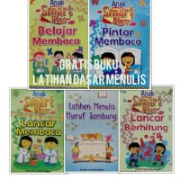 Paket 5 Buku TK dan PAUD (Membaca + Menulis + Berhitung)