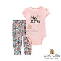Catell 2in1 Little Sister Jumper / baju jumper bayi perempuan