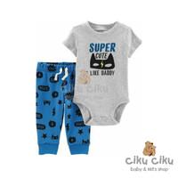 Catell 2in1 Super Cute Jumper / baju jumper bayi laki-laki