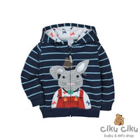 Carter's Rabbit Navy Jaket / jaket bayi laki-laki