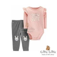 Catell 2in1 Snow Cute Jumper / baju jumper bayi perempuan