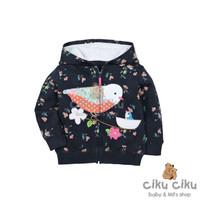Carter's Bird Navy Jaket / jaket bayi perempuan