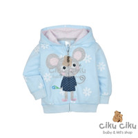 Carter's Mouse Blue Jaket / jaket bayi perempuan
