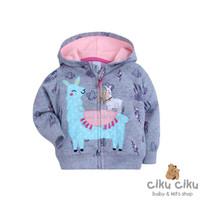 Carter's Alpaca Grey Jaket / jaket bayi perempuan