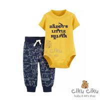 Catell 2in1 Little Helper Jumper / Baju jumper bayi laki-laki