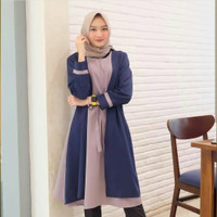 Fashion Muslim|Atasan Muslim Wanita|Tunik Muslim Wanita Tamara Combi