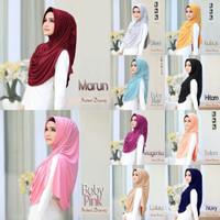 Jilbab Instan Hijab Syari Kerudung Briany Kerut Rempel Murah Terbaru