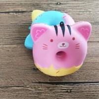 Squishy donut animal / squishy donut motif hewan