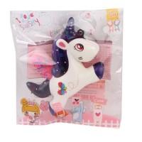Paket squishy isi 3 murah Model Hot dog + LOL + Kuda unicorn JL30