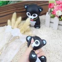 squishy murah slow rising model beruang hitam import tanpa packaging