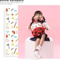 Tas sekolah anak karakter hewan PANDA bahan premium BG38