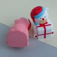 squishy MURAH model SANTA BAWA KADO mainan anak murah