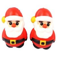 New squishy slow rebound color printing Santa pu Christmas jk16