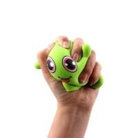 Mainan anak elastis Monster GREEN bisa ditarik sampai panjang HL19