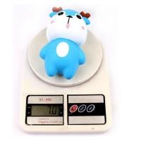 Squishy murah licensed sanqi elan model rusa tanduk warna biru slow