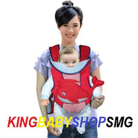 Dialogue Baby DGG 4138 Gendongan Hipseat Carrier Whales Series