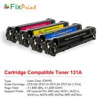 Cartridge Toner Compatible HP CF210A CF211A CF212A CF213A CF320A