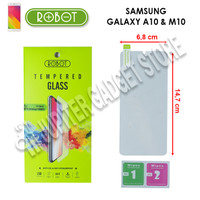 Samsung Galaxy A10 - Samsung Galaxy M10 Robot Tempered Glass 2.5D -ORI