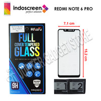 Xiaomi Redmi Note 6 Pro Hikaru Tempered Glass Full Cover - ORI