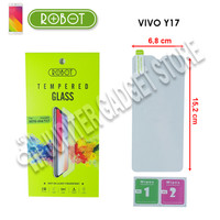 Vivo Y17 Robot Tempered Glass 2.5D - Original