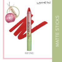 Lakmé 9to5 Naturale Lipstik Matte Sticks - Ruby Space