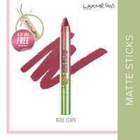Lakmé 9to5 Naturale Lipstik Matte Sticks - Nude Scape