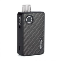 POD STARTER KIT - PAL II 1000MAH BY ARTERY AUTHENT BLACK CARBON FIBER