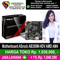 Motherboard ASrock AB350M-HDV AMD AM4