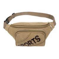 Tas pinggang / waist bag / sling bag import kanvas