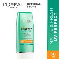 L'Oreal Paris Uv Perfect Matte & Fresh SPF 50 - Kulit Berminyak