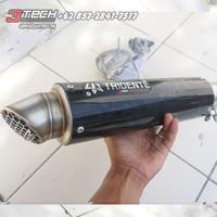Knalpot Tridente F19 V3 150 cc Silincer Only Stainless