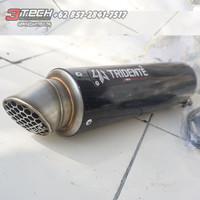 Knalpot Tridente F19 V3 150 cc Silincer Only Carbon