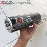 Knalpot Spartan GP3 250 cc 1 Cylinder Full System Stainless