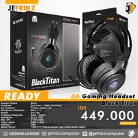 Digitall Alliance Gaming Headset Black Titan