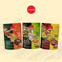 Signature Chips khas Bandung:Ayam Goreng,Nasi Kuning, Mi Kocok