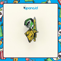 Enamel Pin Blastbolt Green Power Ranger