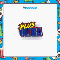 Enamel Pin Blastbolt Plus Ultra logo v.1