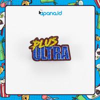 Enamel Pin Blastbolt plus ultra logo v.3