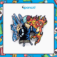 Enamel Pin Blastbolt My Hero Academia - Todoroki Fire & Ice