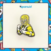 Enamel Pin Blastbolt Yellow Power Rangers