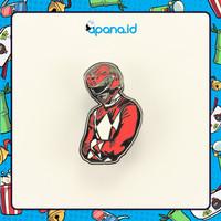 Enamel Pin Blastbolt Red Power Rangers