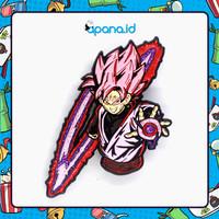 Enamel Pin Blastbolt Dragon Ball - Super Saiyan Rose