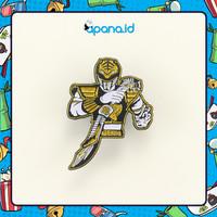 Enamel Pin Blastbolt Gold Power Rangers