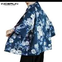 cardigan kimono jacket men women / jaket trench coat pria wanita