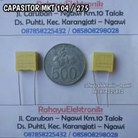 KAPASITOR MKT 104 / 275