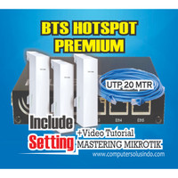 Paket Premium BTS Hotspot Dengan Mikrotik RB450GX4