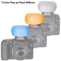 Flash Diffuser Pop Up 3 Color Multi Color Diffuser