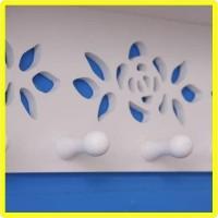 Harga decorative rack shabby chic rak dinding mh501 dgn 5 buah | antitipu.com