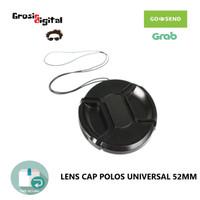 Lens Cap Polos Universal 52mm