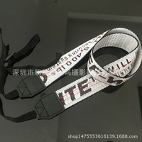 Strap Camera / Tali Kamera OFF WHITE - Silver